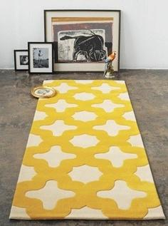 rug houzz Extend Summer with Pops of Yellow in Your Decor!