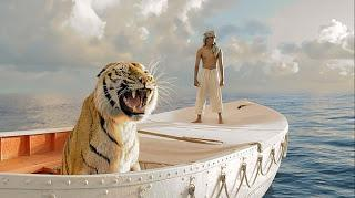 """136. Taiwanese director Ang Lee's film in English """"Life of Pi"""" (2012): Visually spellbinding cinema made standing on the shoulders of a marvelous novelist"""