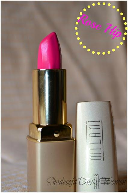 Rose hip lipstick