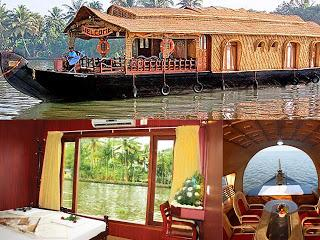 Kerala houseboats – The Floating Paradise Often Marked over Houseboat