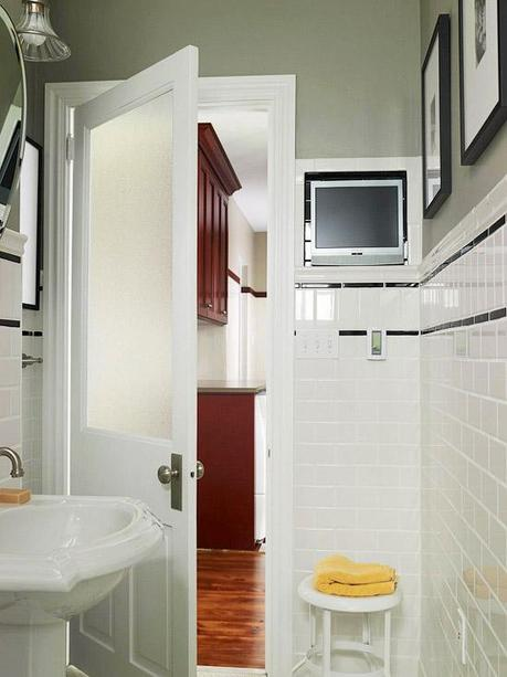 Small bathroom solutions small bathroom design ideas for Compact bathroom solutions
