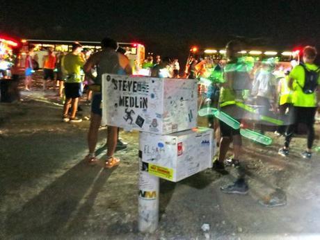 Black Mailbox at start of E.T. Full Moon Midnight Marathon 2013