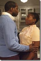 Daryl Satcher and Mildred Marie Langford in Raisin in the Sun, TimeLine Theatre