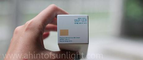 Etude House Precious Mineral Sun BB Cream Bling in the Sea Natural Beige featuring w2beauty.com