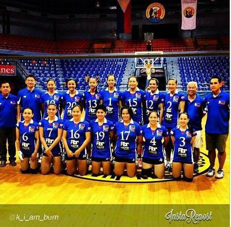 The RP Women's Volleyball Team - 17th AVC