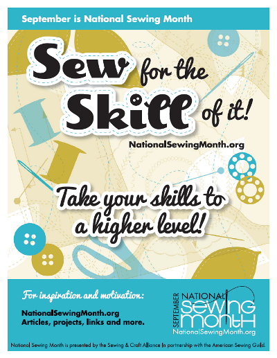 Internaional Sewing Month
