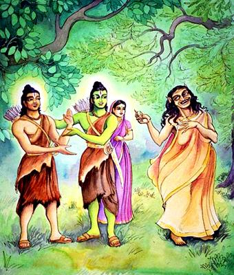 ramayana and the theme of lust The rubaiyat of omar khayyam presents an interesting challenge to any reader trying to sort through its heavy symbolism and not-so-obvious theme.