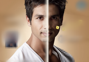 Indian men wish to become whiter at any cost. Here's a typical ad. We blurred the brand's name for obvious reasons.