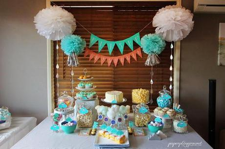 Noahu0027s Ark Themed Baby Shower By PAPERplayground