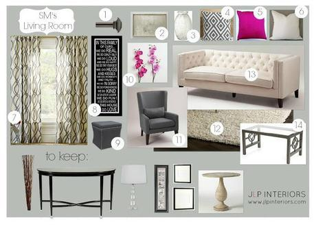 E-Design: SM's Formal Living Room