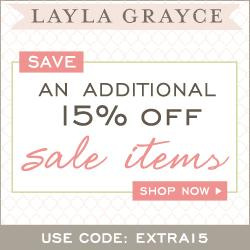 Daily Deal: Save Extra 15% Off Sale Items at Layla Grayce!