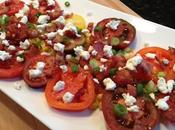 Roasted Corn, Bacon Goat Cheese Salad