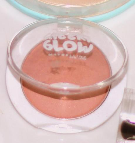 Maybelline Cheeky Glow Powder Blush in Creamy Cinnamon, A Peachy-Coral Blush