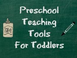 Preschool Teaching Tools For Toddlers