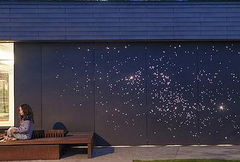 Starry Night Outdoor Wall Light Installation Paperblog