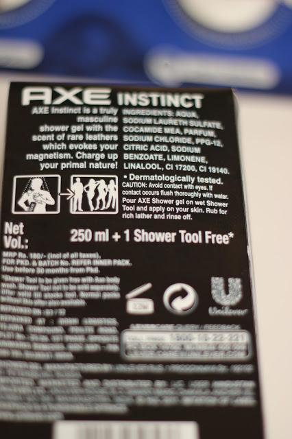 Axe Instinct Revitalizing Shower Gel Review