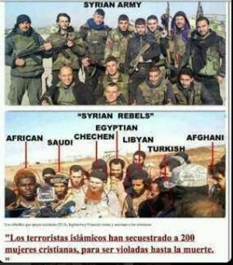 who are the Syrian rebels