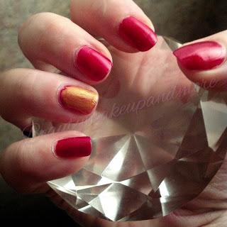 Kansas City Chiefs Inspired Nails/ NPLC Weeks 33 and 34 - Paperblog