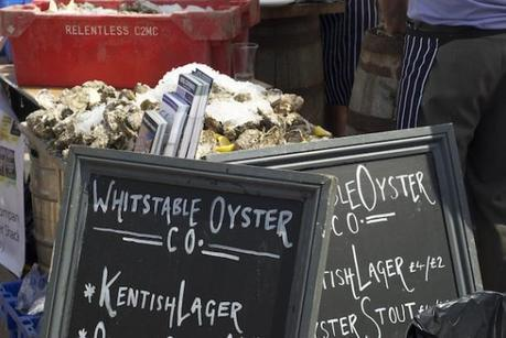 Oysters - Whitstable Oyster Festival Kent