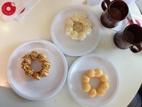 Mister Donut Cafe: The Pon De Ring and the Do-ssant - Paperblog