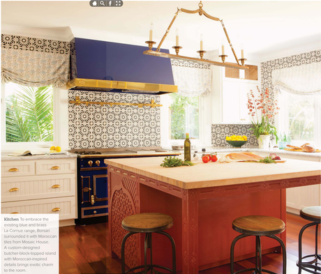 House Tour: A gorgeous island house full of pattern and texture