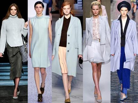 Fall/winter trends - Baby pink and baby blue