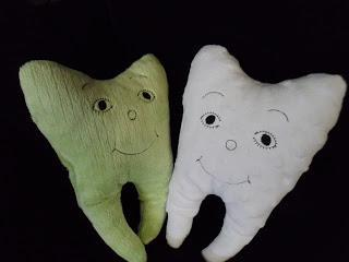 Improved Happy Tooth Pillow