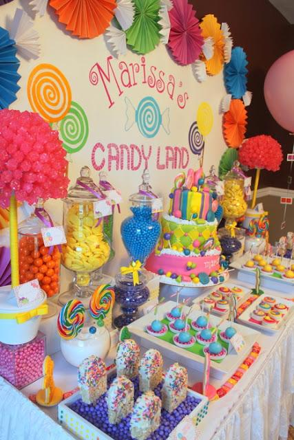 Candy land inspired themed party for a sweet th by klm