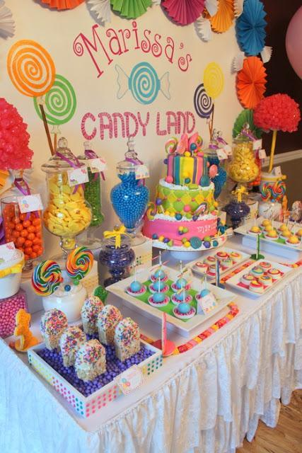 Candy Land Inspired Themed party for a Sweet 16th by KLM Events