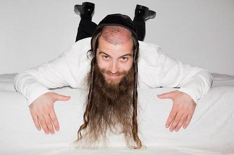 Hassidic models pushing out scantily clad models