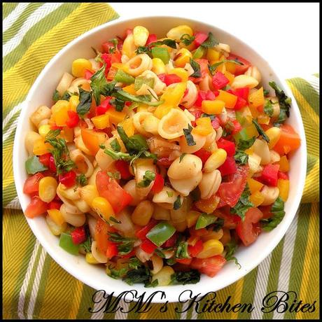 Summer Pasta Salad...Carb addict!!