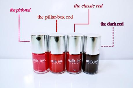 Painting the Town Red: A guide to the numerous shades of red nail polish