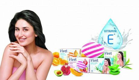 Vivel Soaps and Brand Ambassaor Kareena Kapoor