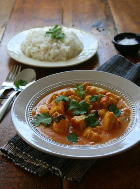 Dinner in a flash! - Chicken Tikka with Fragrant Rice
