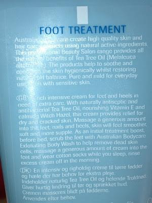 Australian Body Care Tea Tree Oil Foot Treatment Cream Reviews
