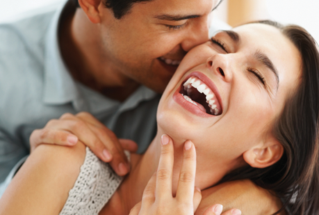 Relationship tip: Laugh your way out of an argument.