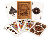 Steampunk Bicycle Playing Cards
