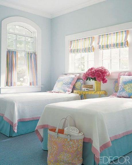 Elle decor cafe curtains Ask Barbara: What Length Should My Childs Drapes Be?