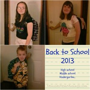 Back to school collage 2013