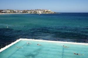 Ocean swimming pool at Bondi Beach, Sydney