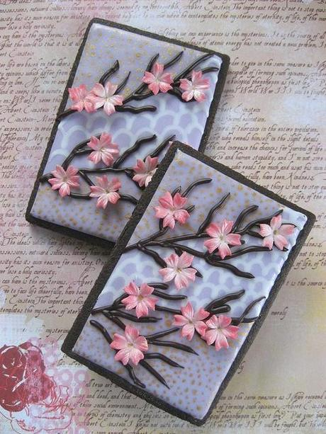 Japanese Cherry Blossom Cookies