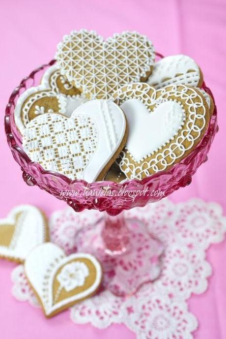5 Amazing Wedding Cookies - Paperblog - photo#16