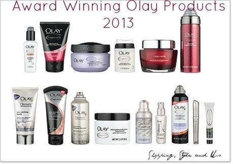 Award Winning Olay Products 2013