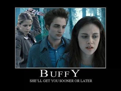 LOVE Buffy!  Have you seen the Buffy Slays Edward video?  I'll have to include it on one of these meme posts.