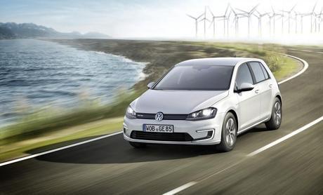 VW e-Golf. (Credit: VW)
