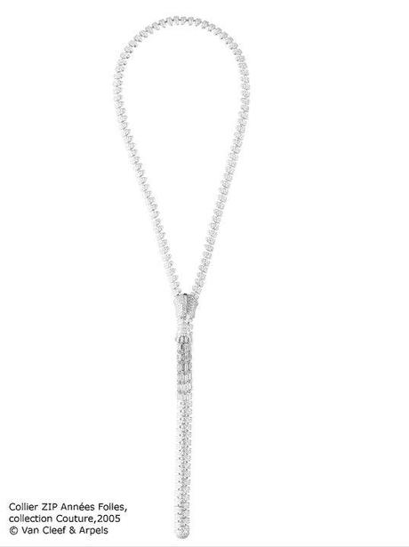 Collier Zip Annees Folles