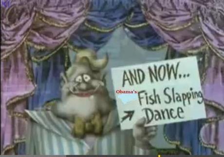 fish slapping dance