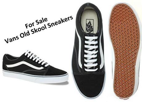 63b57b87eb For Sale  New Vans Old Skool Sneakers - Paperblog