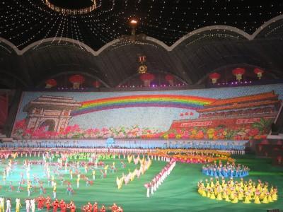 mass games top night time activity pyongyang