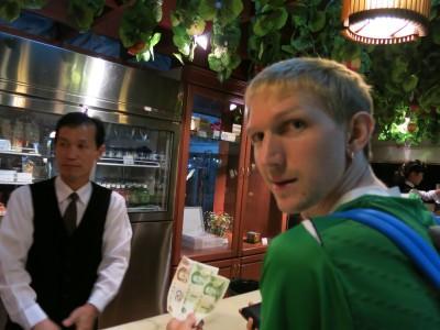 beer in brewery bar pyongyang